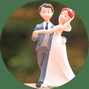 soggetti per decorazione torte matrimoni