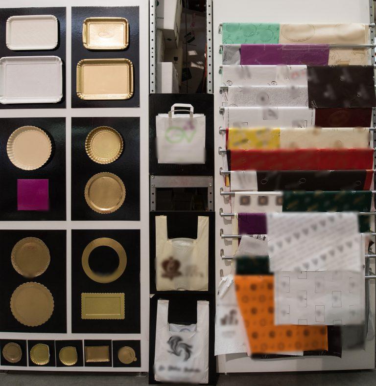 carte e accessori per il confezionamento di prodotti da pasticceria