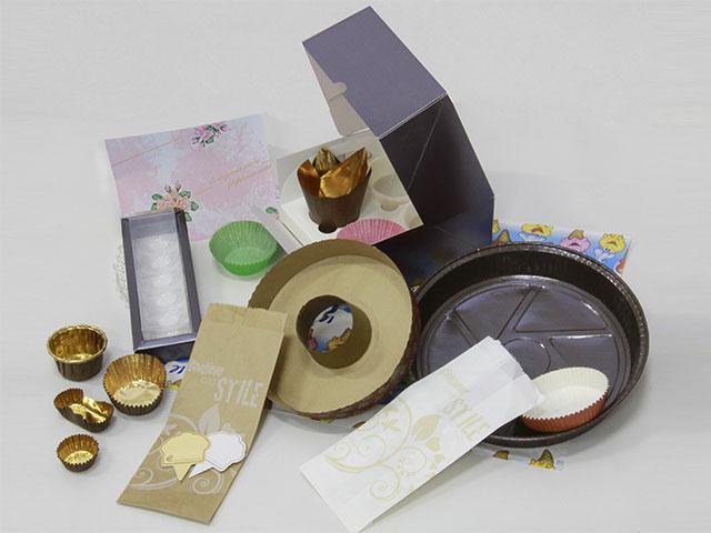 carta e accessori per il confezionamento di prodotti alimentari
