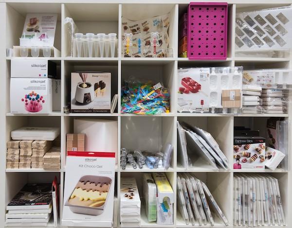 accessori e prodotti per la gelateria