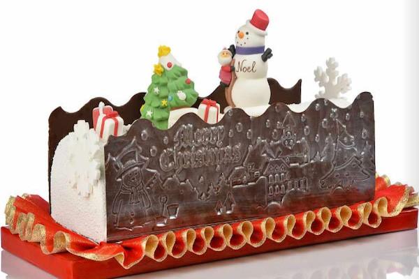 decorazioni per torte e dolci natalizi