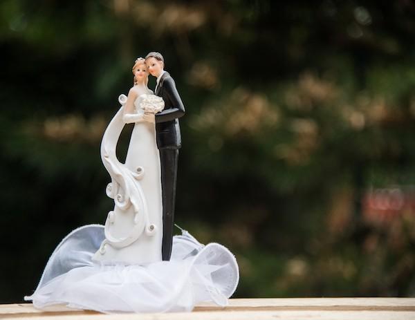 decorazioni per torte di matrimonio