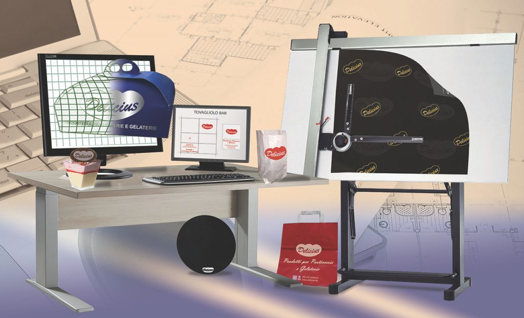 Articoli e prodotti per pasticceria e gelateria personalizzati progetti su misura